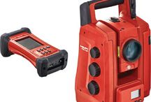 Optische meetapparatuur, Total Stations & Roterende lasers / Roterende bouwlasers, total stations van merken als Leica, Hilti, Trimble, Topcon