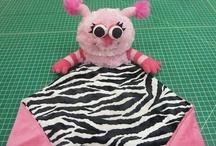 Animal Minky Blankets / Cutest little Animal Minky Blanketsfor all ages!!!