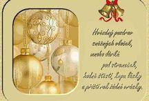 Vánoce, Silvestr, Nový Rok,Přáníčka