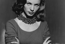 Lauren Bacall/ Marilyn Monroe