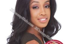Full Lace Wigs / Full lace wig means all the hairs are hand tied to lace, which enables you to part the hair anywhere. XCsunnyHair's full lace wigs are 100% hand tied and 100% Indian Remy Hair. You are from tangle, what is more, you can flat iron or curl the hair.