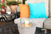 Love Lives Here by Pavilion / Love Lives Here by Pavilion® combines ceramic filled soy candles and porcelain house tealight holders that bring warmth and light to your home and hearts. A neutral color palette allows this collection to be the perfect accent to any decor. Each piece features just the right sentiment for your gift-giving needs, so you can make the perfect statement to let others know that love really does live here.