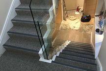 Communal stairwells in flats