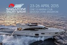 Singapore Yacht Show 2015 / The Singapore Yacht Show will be held at the One° 15 Marina Club (Sentosa Cove) from 23rd to 26th April. Ferretti Group and Hong Seh will be showcasing the magnificent Ferretti Yachts 690, Pershing 64 and Venere 75' (Stand F1, F2, F3)