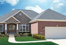 Ronald Reagan B - Floor Plan / Jagoe Homes, Inc. Project: Enclave at Glen Lakes, Ronald Reagan, Louisville, KY. Lot 40.