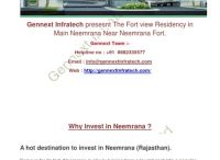 Best investment options in neemrana Rajasthan - Gennext infratech pvt ltd