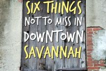 Georgia Vacation / Savannah, Charleston, and Tybee Island Vacation ideas and things not to miss