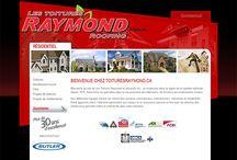 Toitures Raymond site internet