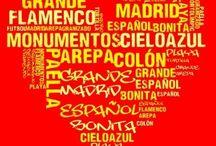 España es para mí... / Nubes de palabras de la clase 8c, curso 2013/14