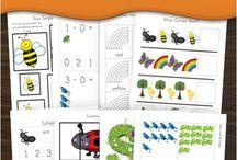 Preschool - learning packs