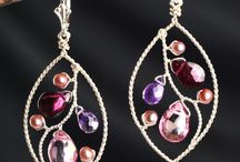 Love of a Woman | Heart Supporting Talisman Jewelry / Rose Quartz, Amethyst, Pink Topaz, Pearls, Raw Quartz, Garnet. These gemstones support the heart and the divine feminine, and are our go-to talisman pieces when our heart and soul need support