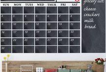 Chalkboard Calendars