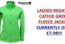 LADIES REGATTA CATHIE GREEN FLEECE JACKET / LADIES REGATTA CATHIE GREEN FLEECE JACKET: CURRENTLY ONLY £7.98!!! http://www.premiumbuys.co.uk/LadiesRegattaFullZipFleeceJacketGreenSizes10-20Cathie.aspx