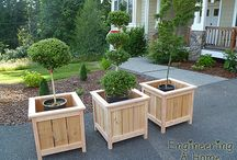 pallets for flower boxes