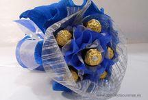 Ramos de bombones / Ramos de bombones hechos a mano en Gomimola