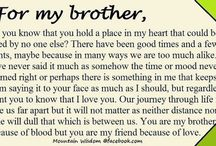 Quotes from sisters to brothers