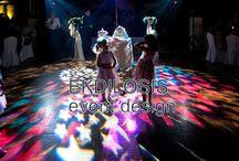 EKDILOSIS wedding lighting / Πόσο σημαντικός είναι ο φωτισμός σε μία γαμήλια εκδήλωση? Σε συνδιασμό με την μουσική θα αποτελέσει το μεγαλύτερο ατού για ένα ζεστό σκηνικό στην εκδήλωση σας !