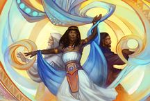 Diverse Fantasy Art / Representations of people of colour in fantasy art. I've realised - it not that hard to find if you're looking in the right places. (#diversefantasyart #Poc #fantasyart)