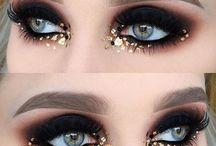 Black and Gold Makeup Inspiration
