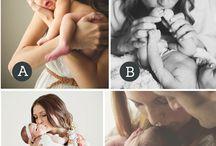 Позы для новорожденных