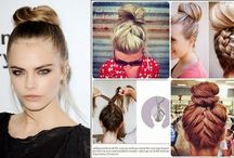 hair and make up trends