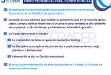 EL TRADING Y LOS MERCADOS / DIFERENTES CONCEPTOS SOBRE TRADING Y MERCADOS PARA PODER APROVECHAR MÁS EL CURSO / by BetraderMx