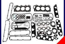 Honda Cylinder Head Gaskets and Head Bolts / All our items use premium materials in order to meet or exceed OEM quality standars for ISO/TS16949, ISO9002, QS9000 for various American and imported vehicles.