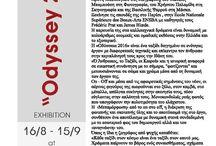 """Exhibition """"Odyssey 2016"""" by Mina Kordali"""