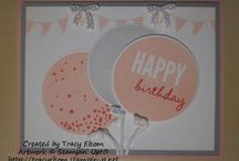 Stampin Up - Celebrate Today / by Whitney Ulsas