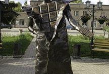 Sculpture, moument