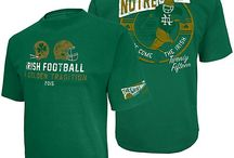 Go Irish! / Show your school spirit with gear from the Hammes Notre Dame Bookstore