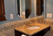 Bathroom ideas / by Michelle Wright
