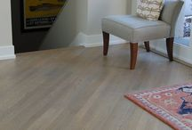 Eastern Cincinnati Residence Project / The floors in this home are White Oak stained with a water base finish.