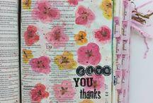 bible journaling / by Pandoras Fashion Box ...