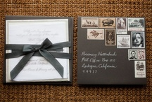 Wedding stationery / by Alarmed Broom