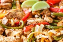 sheet pan suppers / One dish or one pan. Easy dinner recipes