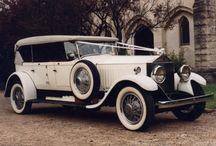 Vintage Wedding Cars / Beautiful vintage wedding cars.