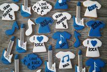 Music cookies / Music cookies quitar cookies hudební perníčky
