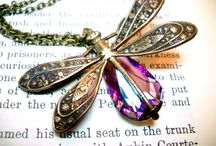 Dragon Fly's / I love dragon flies and it can be in art on the wall, to jewelry, to the real thing