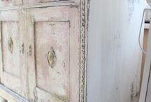 komoda chippy look / Annie Sloan Chalk Paint