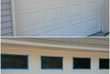 Exterior Paint Projects / Exterior paint projects inspiration and DIY tips/tricks to help you with a job well done!