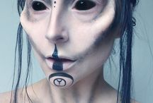 Demon Makeup Reference