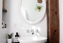 Bathrooms and sinks