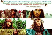 Captain Jack Sparrow / by Olivia Spinelli