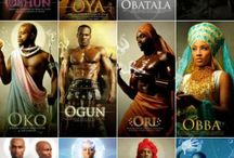 Orishas / Afro-Cuban, Yoruban & other religions of the Diaspora. / by Leilah Thiel