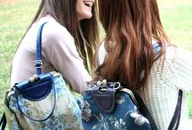 The ''Sweetie bag'' / Girls with the new Sweetcase retro backpack!!! The ''Sweetie  bag''.