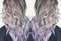 Lavender Highlights Inspiration / Beautiful Lavender Highlights