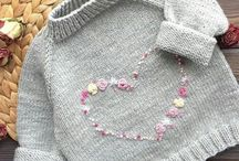 Child knit-crothet