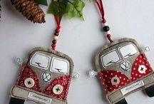 sewing christmas decoration