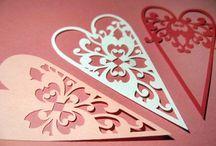 День Святого Валентина / Поделки из бумаги